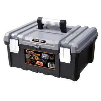 Tactix 320332 Plastic tool box กล่องเครื่องมือ 42.5 x 33.5 x 21 cm