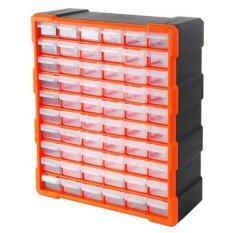 ขาย Tactix 320638 กล่องเครื่องมือ กล่องเครื่องมือช่าง กล่องใส่เครืื่องมือช่าง กล่องใส่อะไหล่ ลิ้นชัก 60 ช่อง พลาสติก ปรับขนาดช่องใส่ได้ ขนาด 48 5 H X 38 5 L X 16 W Cm ถูก กรุงเทพมหานคร