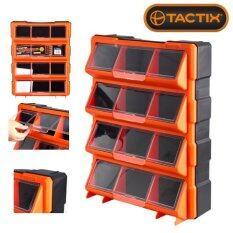 ราคา Tactix 320648 กล่องเครื่องมือ กล่องเครื่องมือช่าง กล่องใส่เครื่องมือ 12 ช่อง พร้อมฝาปิดใส Tactix ออนไลน์
