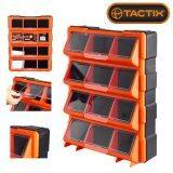 ขาย Tactix 320648 กล่องเครื่องมือช่าง กล่องเครื่องมือ กล่องใส่เครื่องมือช่าง 12 ช่อง พลาสติก พร้อมฝาปิดใส แขวนผนังได้ ผู้ค้าส่ง