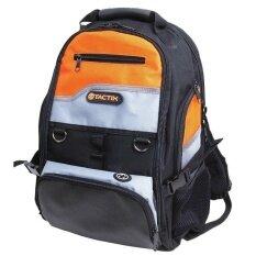 ซื้อ Tactix 323147 กระเป๋าเครื่องมือช่าง อุปกรณ์ช่าง สีดำ สีส้ม ถูก ใน กรุงเทพมหานคร