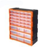 โปรโมชั่น Tactix กล่องใส่อะไหล่ กล่องใส่เครื่องมือช่าง ลิ้นชัก 39 ช่อง รุ่น 320636 ขนาด38 5 H X 48 5 L X 16 W Cm พลาสติก สีส้ม ดำ Tactix ใหม่ล่าสุด