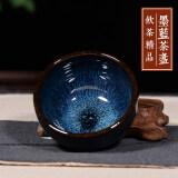 ขาย ถ้วยน้ำชาหมึกสีฟ้าปากเล็กถ้วยถ้วยชาเต็มคู่มือ ถูก