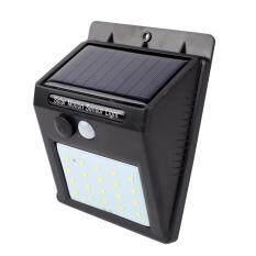 Telecorsa ไฟติดผนัง เซ็นเซอร์ ใช้พลังงานโซล่าเซล  รุ่น Solarlight14a.