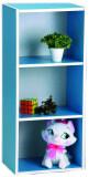 Tesco เทสโก้ ชั้นเอนกประสงค์ 3 ช่อง สีฟ้า ใหม่ล่าสุด