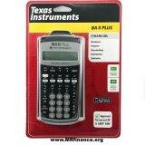 ขาย Texas Instruments เครื่องคิดเลขทางการเงิน รุ่น Ti Ba Ii Plus New Model ราคาถูกที่สุด