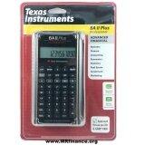 ส่วนลด Texas Instruments เครื่องคิดเลขทางการเงิน รุ่น Ti Ba Ii Plus Professional Texas Instruments