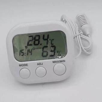 เครื่องวัดอุณหภูมิ และความชื้น -วัน-เวลา รุ่นTH668A