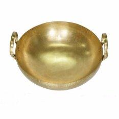 ขาย Thai Bronze กะทะทองเหลือง สำหรับประกอบอาหาร คาว และ หวาน ขนาด 35 ซม