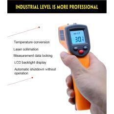 ขาย ที่วัดอุณหภูมิไร้สาย Thermal Gun Infrared Thermometer Non Contact Digital Laser Infrared Thermometer Gs320 50 360C 58 680F Ir Laser Point Gun ออนไลน์ ใน นครราชสีมา