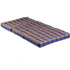 ราคา ที่นอนแบบพับเก็บได้ ขนาดใหญ่ ขนาด 90 8 180 ซม สีน้ำเงิน ใน กรุงเทพมหานคร