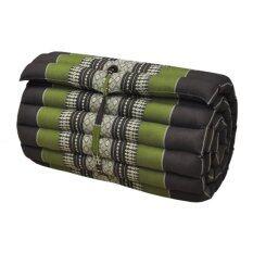 ซื้อ ที่นอนระนาด ที่นอน เบาะรองนอน เบาะรองนั่ง สีเขียวแถบน้ำตาล ขนาด 180X55 Cm ใหม่ล่าสุด