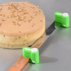 ซื้อ ที่สไลด์เค้ก ปรับระดับได้ 5 ระดับ มี 2 ชิ้นต่อชุด ไม่รวมมีด สีเขียว ใหม่