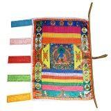 ราคา Tibetan Wind Horse Flag Buddhist Pray Prayer Flag For Buddhism Medicine Satin Intl Unbranded Generic ใหม่
