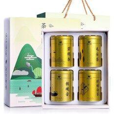 ส่วนลด Tieguanyin Tea Biluochun Tea Anji White Tea Maojian Tea Chinese Natural Organic Green Tea 4 Cans Intl จีน