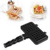 ราคา Tmishion 1Pc Kitchen Rectangle Shape Non Stick Waffle Mold Baking Pan Making Tool Maker Press Plate Intl เป็นต้นฉบับ