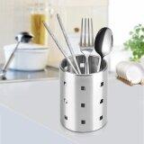 ทบทวน Tmishion Stainless Steel Kitchen Cutlery Holder Chopsticks Storage Rack Organizer M Intl Unbranded Generic