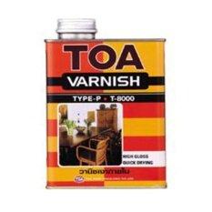 ราคา Toa วานิชเงาภายใน วานิชเกรดพรีเมี่ยม หนึ่งเดียวที่ช่างสีเลือกใช้ กระป๋องเล็ก Toa เป็นต้นฉบับ