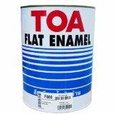 ราคา Toa Glipton สีน้ำมันทาเคลือบเหล็กและไม้ ชนิดด้าน F888 สีดำ Board Black กระป๋องเล็ก 946ลิตร Toa กรุงเทพมหานคร