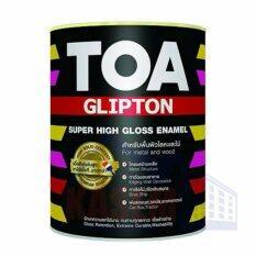 Toa Glipton สีน้ำมันเคลือบเงาเหล็กและไม้ G464 สีน้ำตาล Suede ใหม่ล่าสุด