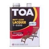 โปรโมชั่น Toa แล็คเกอร์ด้านT 5500 ผลิตภัณฑ์แล็กเกอร์เคลือบไม้ชนิดด้าน กระป๋องเล็ก ถูก