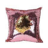 ซื้อ Tone Glitter Sequins Throw Pillow Cases And Covers Color Changing Scale Euro Decorative Home Cushion Sofa Pillowcase Intl ถูก จีน