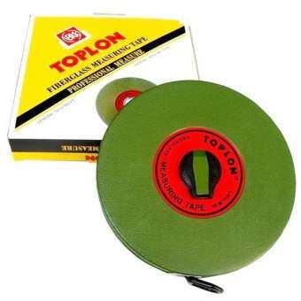 Toplon เทปวัดระยะ เทปวัดระยะทาง เทปวัดที่ 10 เมตร