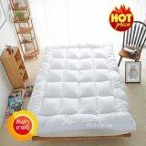 ทบทวน Topper ที่นอน เบาะรองนอน หนานุ่ม ขนาด 3 5 ฟุต สีขาว Topper