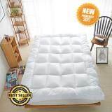 ราคา Topper ที่นอน เบาะรองนอน หนานุ่ม ขนาด 6 ฟุต สีขาว เป็นต้นฉบับ