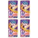 ราคา Toro Toro โทโร โทโร่ ขนมครีมแมวเลียปลาทูน่าและคัตทสึโอะบูชิผสมหอยเชลล์ 15G X 5Pcs X 4 Packs Toro Toro ออนไลน์