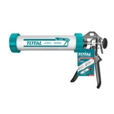 ส่วนลด Total ปืนยิงกาวซิลิโคน ทรงกระบอกแกนคู่ ขนาด 12 นิ้ว รุ่น Tht20112 Caulking Gun Total