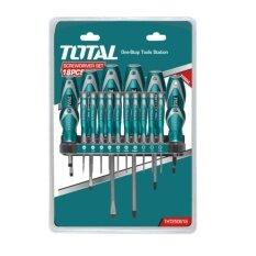 ราคา Total ไขควงชุด ปากแบน ปากแฉก หัวทอร์ค 18 ตัวชุด รุ่น Tht250618 Screwdriver Set เป็นต้นฉบับ