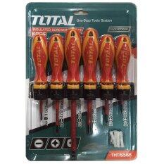 ทบทวน Total ไขควงกันไฟ 6 ตัว ชุด รุ่น งานหนัก