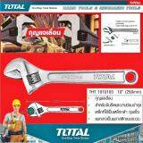 ซื้อ Total Adjustable Wrenches Tht 1010103 10 โททัลกุญแจเลื่อน ขนาด 10 นิ้ว สำหรับจับยึด และงานซ่อมบำรุง ผลิตจากเหล็กล้า ชุบแข็ง สำหรับงานหนัก ใช้งานง่าย ปลอดภัย มาตรฐานญี่ปุ่น 1 แพ็ค 1 ชิ้น Total ถูก