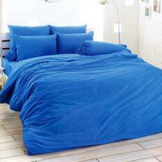ทบทวน Toto ชุดผ้าปู สีพื้น สีฟ้า Cyan ไม่รวมผ้านวม