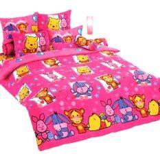 ซื้อ Toto ชุดผ้าปูที่นอน ผ้านวม โตโต้ ลายการ์ตูน คิวตี้ รุ่น Cu79 ออนไลน์ ไทย