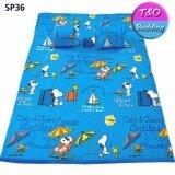 โปรโมชั่น Toto Picnic โตโต้ ที่นอนปิคนิค 5 Ft สนูปปี้ Snoopy Sp36 ไทย