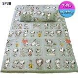 ซื้อ Toto Picnic โตโต้ ที่นอนปิคนิค 5 Ft สนูปปี้ Snoopy Sp38 ถูก