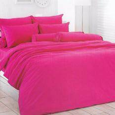 ซื้อ Totoผ้าปูที่นอนโตโต้ สีพื้นColor Paletteลายใหม่ ขายดี รหัส สีชมพูเข้ม ขนาด3 5ฟุต ถูก