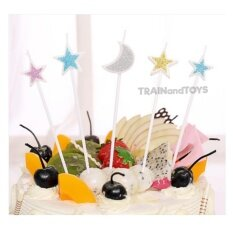 Trainandtoys ชุดเทียนวันเกิด Twinkle Little Stars 5 ชิ้น.