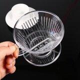ซื้อ Transparent Reusable Coffee Filter Cone Portable Pour Over Dripper Pure Flavor Maker Tool Intl