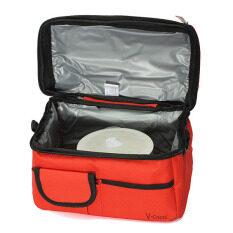โปรโมชั่น Travel Bbq Camping Picnic Lunch Insulated Cooler Cool Ice Bag Food Drink Carrier Red Unbranded Generic ใหม่ล่าสุด