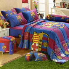 ขาย Tulip ชุดเครื่องนอน ทีมฟุตบอล บาร์เซโลน่า Barcelona รุ่น Bc001 Blue Red ออนไลน์ ไทย
