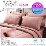 ขาย ซื้อ ออนไลน์ Tulip Delight ทิวลิปดีไลท์ ชุดเครื่องนอน สีพื้น รุ่น Dl529