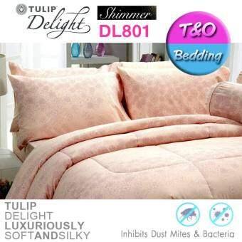 Tulip Delight ชุดผ้าปู + ผ้านวม Shimmer รุ่น DL801