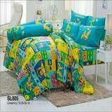 ราคา Tulip ชุดผ้าปูที่นอน ไม่รวมผ้านวม ลาย ไดโนเสาร์ Dinosour รุ่น Sl005 Tulip ใหม่