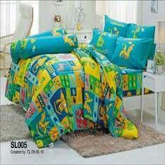 ขาย ซื้อ Tulip ชุดผ้าปูที่นอน ไม่รวมผ้านวม ลาย ไดโนเสาร์ Dinosour รุ่น Sl005 กรุงเทพมหานคร
