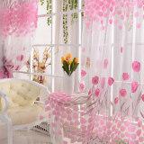 ซื้อ Tulip Flower Floral Tulle Voile Window Curtain Drape Sheer Decor Fabric Transparent Sheer Living Room Screening Home Decoration 200X100Cm Intl None เป็นต้นฉบับ