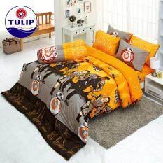 ราคา Tulip Seamless ชุดผ้าปูที่นอน ขนาด 3 5 ฟุต 3 ชิ้น ไม่รวมผ้านวมเย็บติด Sl510 ถูก