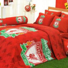 ราคา Tulip ทีมฟุตบอล ลิเวอร์พูล Liverpool ชุดเครื่องนอน รุ่น Li002 Red Tulip ออนไลน์